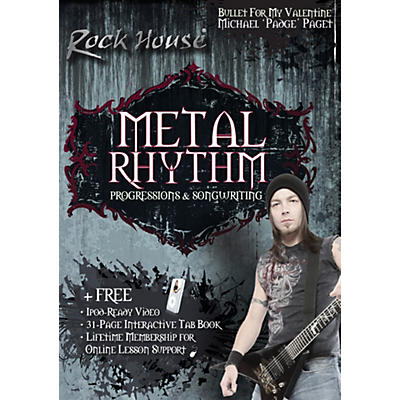 "Rock House Micheal ""Padge"" Paget - Metal Rhythym, Progressions & Song Writing DVD"