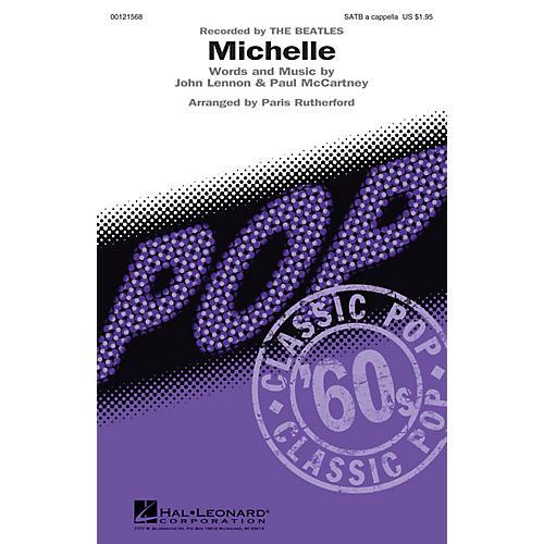 Hal Leonard Michelle SATB a cappella