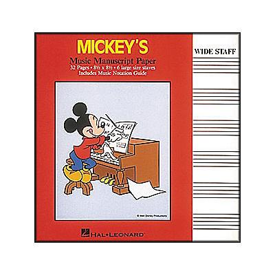 Hal Leonard Mickey's Manuscript Paper