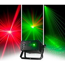 American DJ Micro 3D II Compact Red and Green Laser with IR Remote