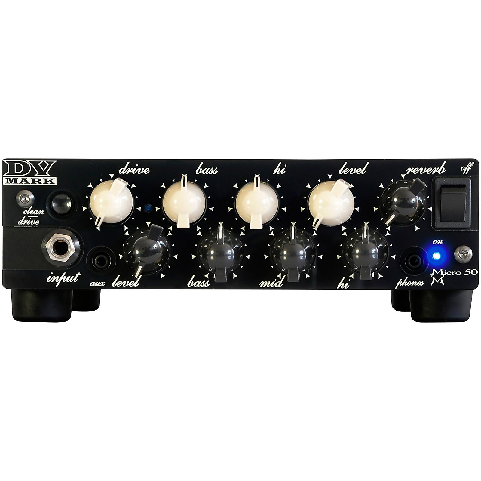 DV Mark Micro 50 M 50W Guitar Amp Head
