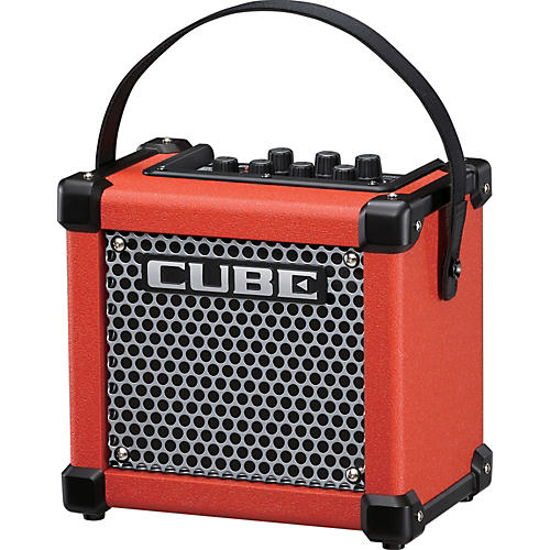 roland micro cube gx 3w 1x5 battery powered guitar combo amp red musician 39 s friend. Black Bedroom Furniture Sets. Home Design Ideas