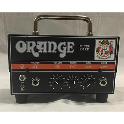 Orange Amplifiers Micro Dark 15W Tube Guitar Amp Head