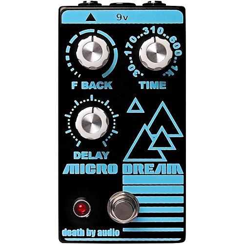 Death By Audio Micro Dream Lofi Delay Effects Pedal Black