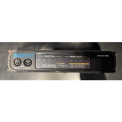 MOTU Micro Lite Audio Interface