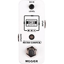 Open Box Mooer Micro Looper Effects Pedal