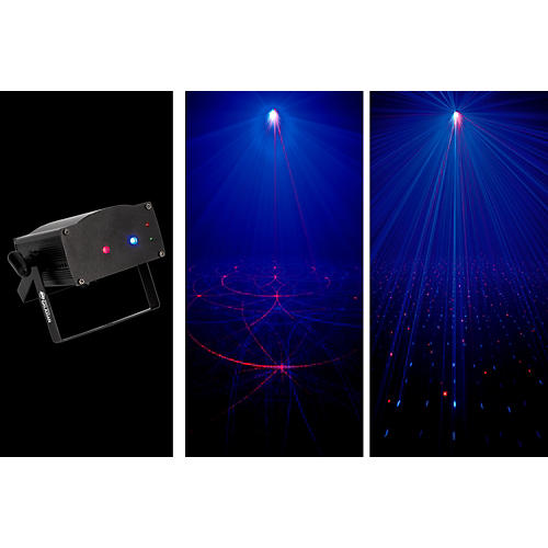 American DJ Micro Royal Galaxian Sound-Active Laser Shower Effect