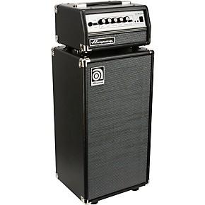 Ampeg Micro-VR Bass Amp Head and SVT210AV Bass Speaker Cabinet Stack