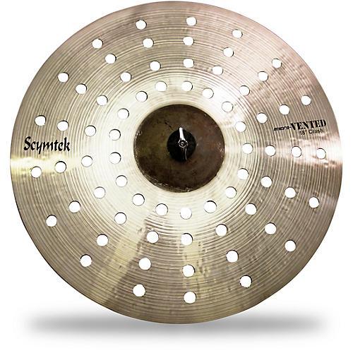 scymtek cymbals micro vented crash cymbal 18 in musician 39 s friend. Black Bedroom Furniture Sets. Home Design Ideas