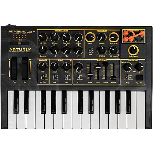 arturia microbrute creation edition analog synthesizer musician 39 s friend. Black Bedroom Furniture Sets. Home Design Ideas