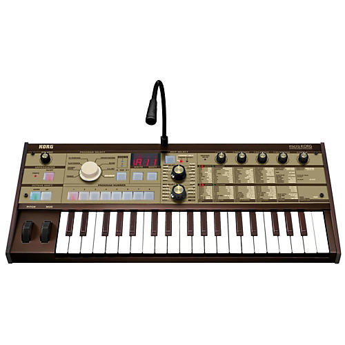 Korg MicroKorg Vintage Gold Synthesizer/Vocoder