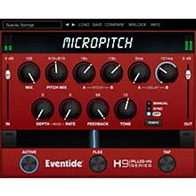 Eventide MicroPitch Native Plug-in Software Download