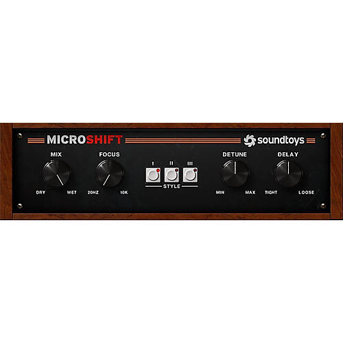 Soundtoys MicroShift 5 Software Download