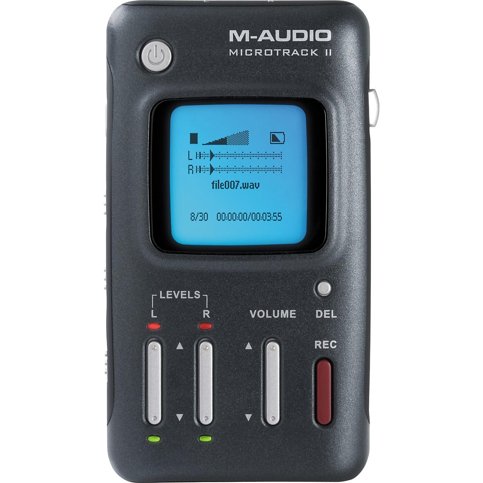 M-Audio MicroTrack II Portable Digital Recorder