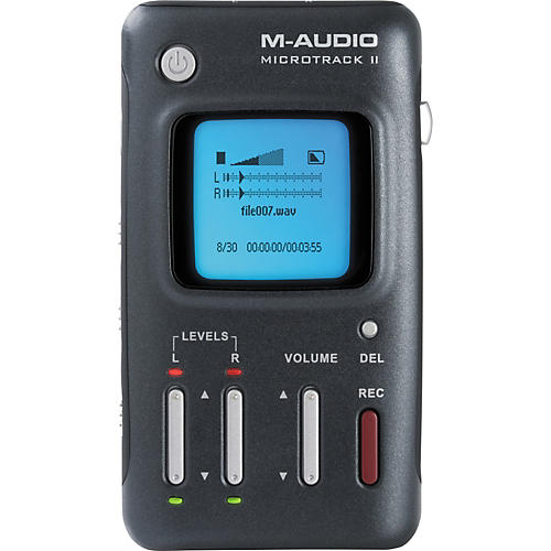 M-Audio MicroTrack II Portable Digital Recorder