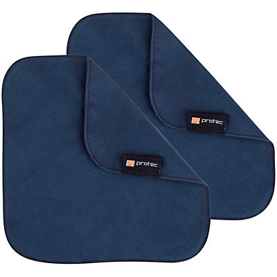 """Protec Microfiber Cleaning Cloths (Pair), 7"""" x 7"""""""