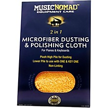 MusicNomad Microfiber Dusting & Polishing Cloth - Pianos & Keyboards