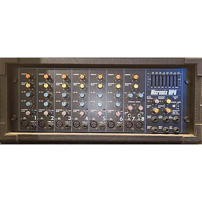 Yorkville Micromix Mp8 Powered Mixer