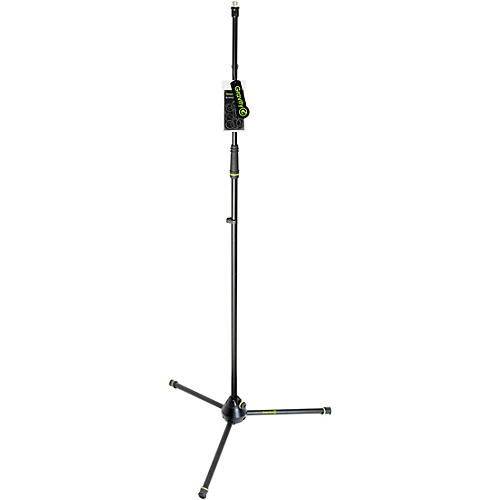 Gravity Stands Microphone Stand Straight With Folding Tripod Base