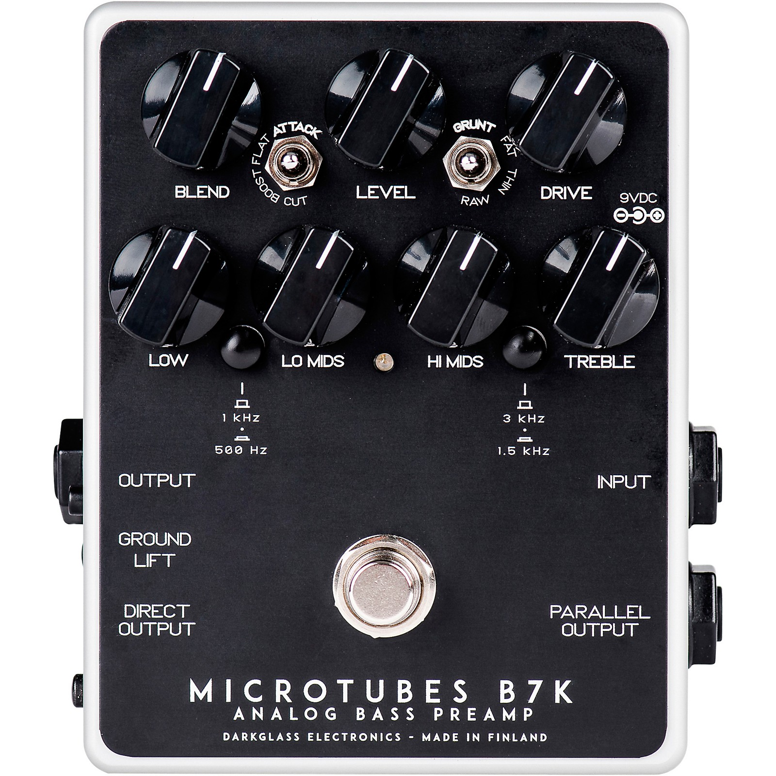 Darkglass Microtubes B7K V2 Bass Preamp Pedal