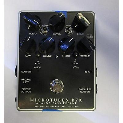 Darkglass Microtubes B7k Bass Effect Pedal