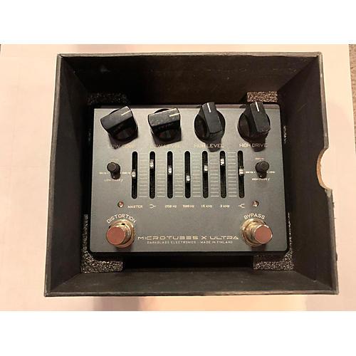 Microtubes X Ultra Bass Preamp Bass Effect Pedal