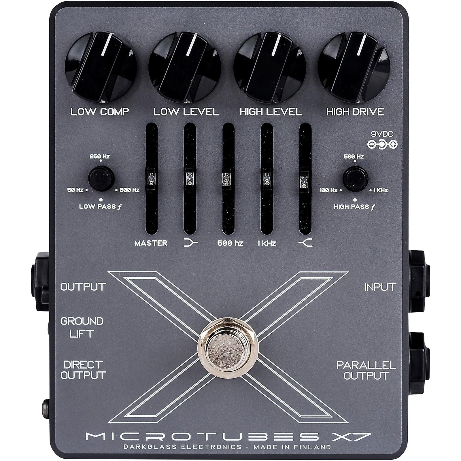 Darkglass Microtubes X7 Distortion Bass Effects Pedal
