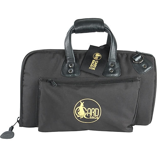 Gard Mid-Suspension Cornet Gig Bag 3-MSK Black Synthetic w/ Leather Trim