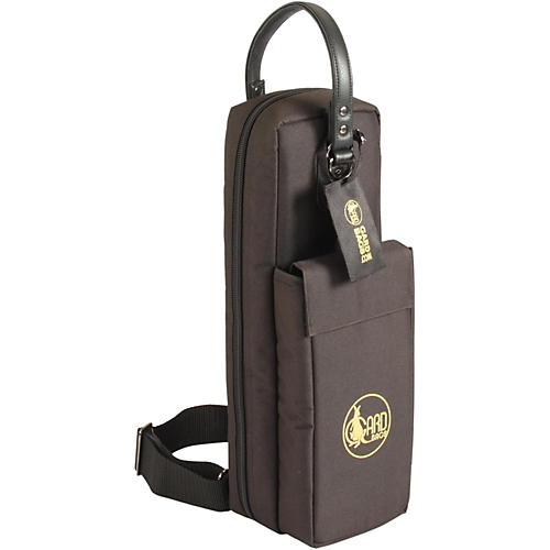Gard Mid-Suspension Flute & Piccolo Combination Gig Bag 162-MSK Black Synthetic w/ Leather Trim