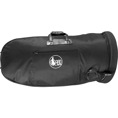 Gard Mid-Suspension Small Tuba Gig Bag 61-MLK Black Ultra Leather