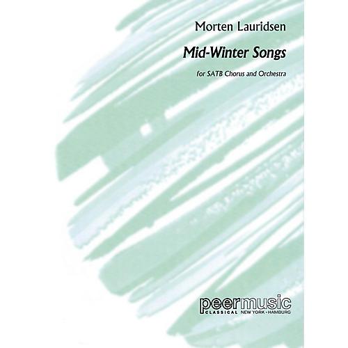 Peer Music Mid-Winter Songs (Study Score) Score Composed by Morten Lauridsen
