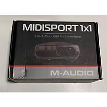 M-Audio Midisport 1x1 Audio Interface
