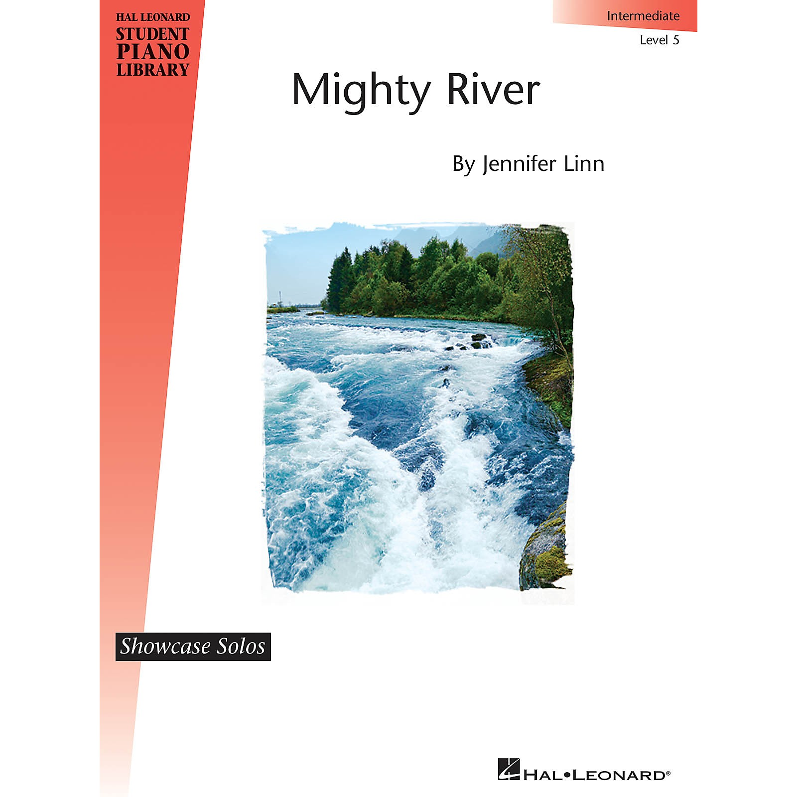 Hal Leonard Mighty River Piano Library Series by Jennifer Linn (Level Inter)