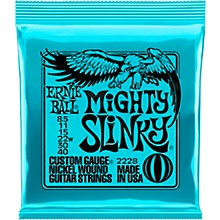Ernie Ball Mighty Slinky 2228 (8.5-40) Nickel Wound Electric Guitar Strings