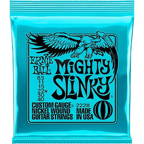 Ernie Ball Mighty Slinky 2228 (8.5-40) Nickel Wound Electric Guitar Strings