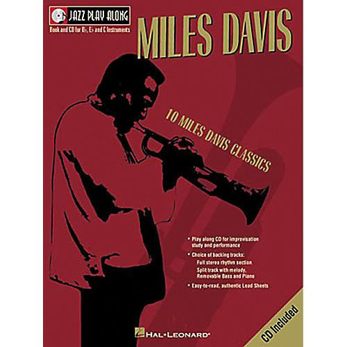 Hal Leonard Miles Davis - Jazz Play Along (Book/CD)