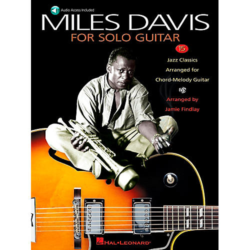Hal Leonard Miles Davis for Solo Guitar Book/CD