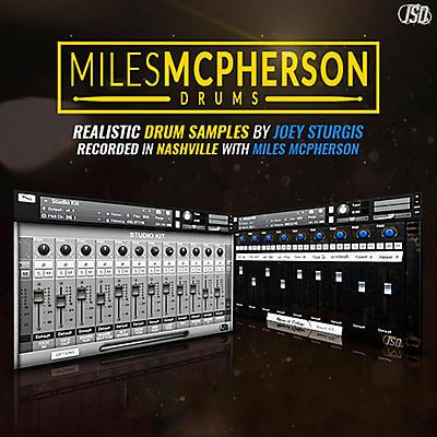 Joey Sturgis Drums Miles McPherson Drum Sample Pack