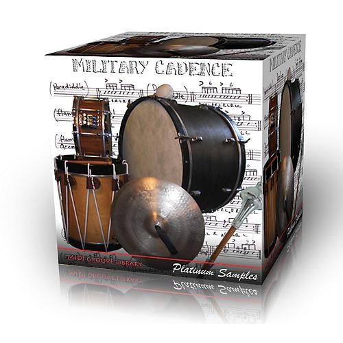 Platinum Samples Military Cadence Multi-Format MIDI Grooves Library