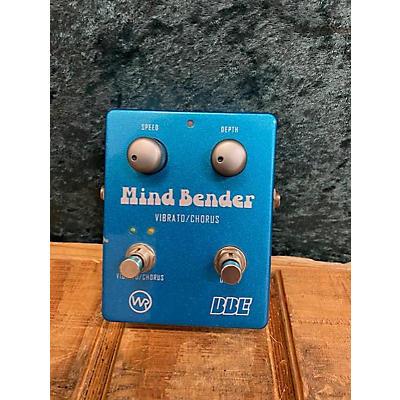 BBE Mind Bender Vibrato/Chorus Effect Pedal