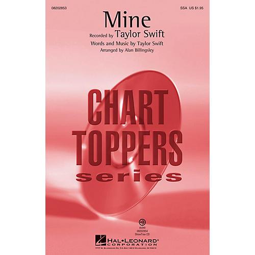 Hal Leonard Mine (SSA) SSA by Taylor Swift arranged by Alan Billingsley
