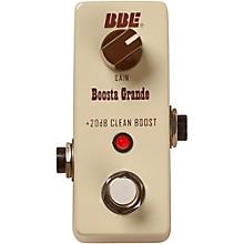 Open BoxBBE Mini Boosta Grande Clean Boost Pedal