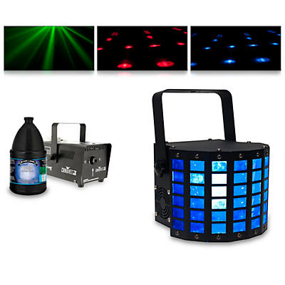 American DJ Mini Dekker with Hurricane 700 Fog Machine and Juice