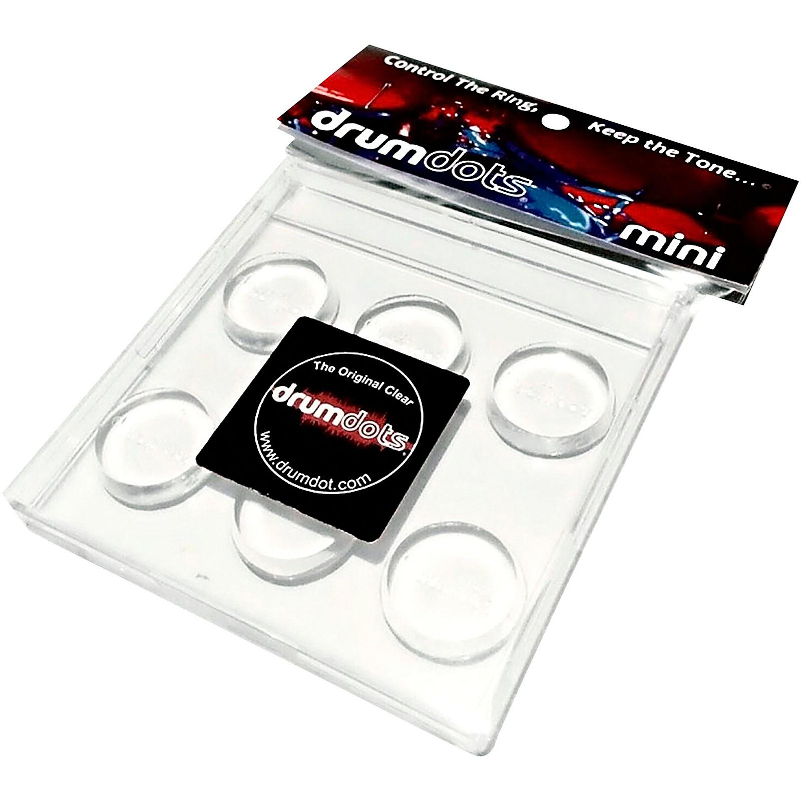 drumdots Mini Drum Dampener, 6-pack