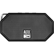 Mini H2O 3 Portable Waterproof Bluetooth Speaker Black