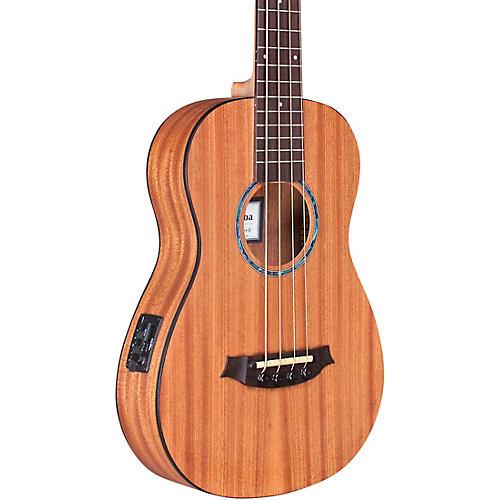 Cordoba Mini II Bass MH-E Travel Bass Guitar Natural