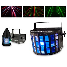 CHAUVET DJ Mini Kinta IRC with Hurricane 700 Fog Machine and Juice