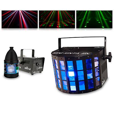 CHAUVET DJ Mini Kinta IRC with Hurricane 700 Fog Machine and Juice