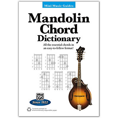 Alfred Mini Music Guides: Mandolin Chord Dictionary Book