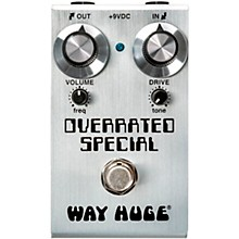 Open BoxWay Huge Electronics Mini Overrated Special Overdrive Effects Pedal